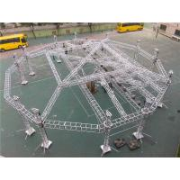 Buy cheap Outdoor Big Event Lighting Box Trusses Aluminum LED Spigot / Bolt Truss 12m - 30m from wholesalers