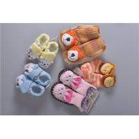 Buy cheap Knitted Slip Resistant Cotton Baby Socks For Keep Warm Custom Made Size product
