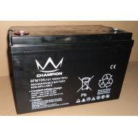 Buy cheap Professional 6FM105 12v 105ah AGM Sealed Lead Acid Battery UPS / Inverter Batteries from wholesalers
