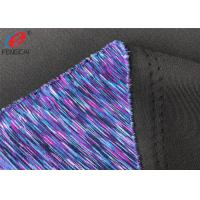 Buy cheap Yarn Dyed Weft Knitted Fabric 95% Polyester 5% Spandex Air Layer Scuba Fabric from wholesalers