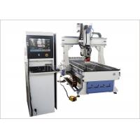 Buy cheap 8 Tools Linear ATC CNC Router Machines AC380V 9.0 Kw For Wooden Furniture from wholesalers