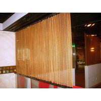 Buy cheap Decorative Wire Mesh Curtain Coil Drapery Stainless Steel / Aluminum Materials from wholesalers