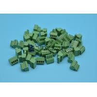 Buy cheap Pluggable Screw Down Terminal Block , Green Electrical Connector Blocks from wholesalers