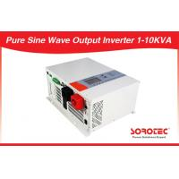 Buy cheap Black Solar Power Inverters Dc to Ac Full Automatical Silent Operation from wholesalers