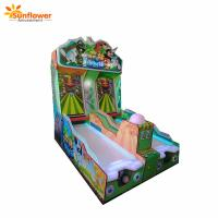 Buy cheap New Arrival Coin Operated Game Forest Bowling ticket redemption arcade bowling lottery game machine for sale from wholesalers