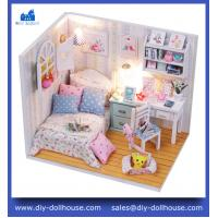 Buy cheap funny children educational toy diy wooden dollhouse M013 from wholesalers