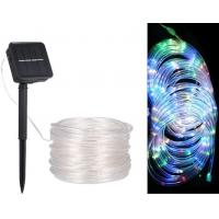 Buy cheap 12M/39.4Ft 7.2W 120 LEDs Solar Powered Energy Rope Light Combination In wave Sequential Slo-glo Chasing/flash Slow Fade from wholesalers