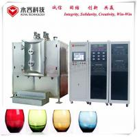 Buy cheap Arc Ion Vacuum Plating Equipment Wine Glass Bottles TiN Gold Coating from wholesalers