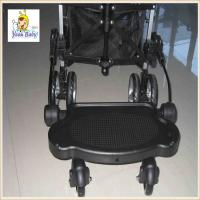 Buy cheap Black Plastic Baby Buggy Board , Universal Buggy Board With Suspension from wholesalers