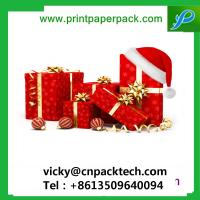 Buy cheap Delicate Red Christmas Gift Box with Bowknot Jewellery Necklace Box Packaging Box from wholesalers