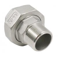 Buy cheap Threaded Pipe Fitting Stainless Steel Casting Conical Union Male Female Union from wholesalers