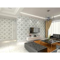 Buy cheap Wall Hanging 3D Living Room Wallpaper , Fabric Wall 3d Wall Panel Sound from wholesalers