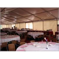 Buy cheap Large Buffet Waterproof Party Tents For Hire 10X30 Temporary Aluminium Frame Marquee from wholesalers