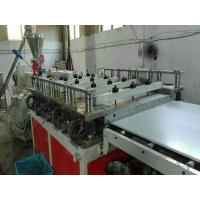 Buy cheap 1220mm Wide PVC Foam Board Extrusion Line , 500Kg/h Capacity Wpc Foam Board Machine from wholesalers