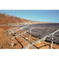 Buy cheap Cold Rolled Solar PV Module Mounting Structure Easily Adaptable To Ground Mounting from wholesalers