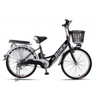 Buy cheap 48V Womens Hybrid City Lithium Bicycle , Electric Assisted Bicycle With Electric Motor from wholesalers