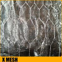 Buy cheap Galvanized Hexagonal Wire Mesh Fence from wholesalers