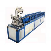 Buy cheap Hydraulic Cutting Door Shutter Roll Forming Machine For Galvanized Steel Metal Profile from wholesalers