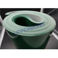 Buy cheap Material Rubber Durable Green Transmission Belt Catcher Conveyor Belt from wholesalers