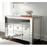 Buy cheap Sophia Design Mirror Furniture Set 3 Drawers Glass Mirror Dresser Table from wholesalers