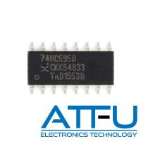 Buy cheap High Speed Programmable Integrated Circuit 74HC595D For 8 Bit Shift Register / Latch from wholesalers