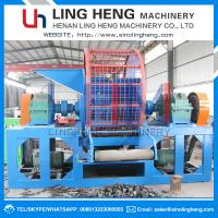 Buy cheap Customizable Recycling Waste Tire LH600-LH2000 Shredder Machine/Rubber Shredder Machine For Sale from wholesalers