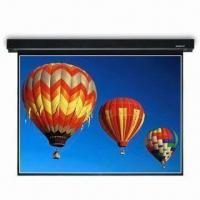 Buy cheap Projection Screen with Glass-beaded Fabric, 2.5 Gain and 70° Viewing Angle from wholesalers