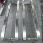 Buy cheap door pull handle glass door pull handle stainless steel handle satin finish from Wholesalers