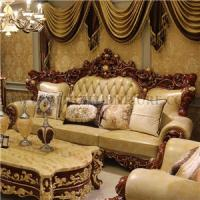 Buy cheap Villa European luxury sofa,Double Sided Carved Sofa,Wood Craft Sofa from wholesalers