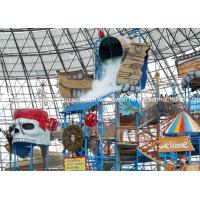 Buy cheap Fiberglass Water Playground Equipment / Water Playstation Customized from wholesalers