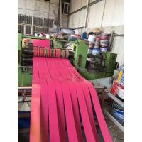 China PPGI Strip Prepainted Steel Coil Slitting Color Coated Galvalume Steel Coil on sale