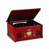 Buy cheap Nostalgic Wooden Music Center with 2.0 + 2.0W Maximum Audio Output Power and Tape Player from wholesalers