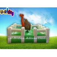 Buy cheap Grassy Inflatable Riding Bull from wholesalers