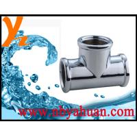 Buy cheap durable zinc alloy pipe tee from wholesalers