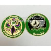 Buy cheap Vintage brass souvenir coins, customized 3D metal token coins, from wholesalers