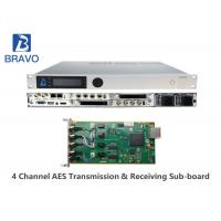 Buy cheap MPEG - 2 / DVBS Professional SD / HD Digital Headend Equipment LCD + Control from wholesalers