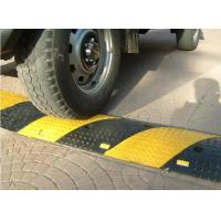 Buy cheap Best Quality Industrial Rubber Car Speed Hump Speed Bump  Highly Visible&Durable Reflective Rubber Speed Bump from wholesalers