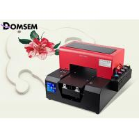 Buy cheap A4 Size LED UV Printer 6 Color for Leather Directly with Embossed Effect from wholesalers