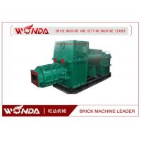 Buy cheap Red Clay Soil Cement Brick Making Machine Vacuum Extruder High Manganese Steel from wholesalers