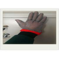 Buy cheap Five Fingers Stainless Steel Gloves With Cut Resistant For Cooking from wholesalers