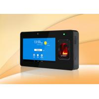 Buy cheap 7inch touch display Android time attendance system, support send SMS to mobile from wholesalers
