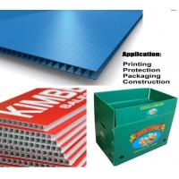 Buy cheap Waterproof Corrugated Plastic Sheets from wholesalers