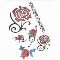 Buy cheap Temporary tattoo sticker, water transfer, fashionable design from wholesalers
