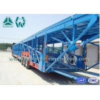 Buy cheap Hydraulic 12 Units Vehicle Transport Car Carrying Truck 60 Tons Sinotruk product