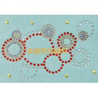 Buy cheap Customized Size Hot Fix Rhinestone Motif For T-Shirt / Iphone Case from wholesalers