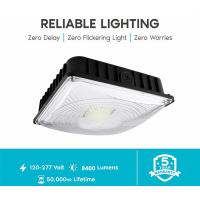 Buy cheap Waterproof LED Surface Mount Canopy Lights , 70W Gas Station LED Light Fixtures from wholesalers