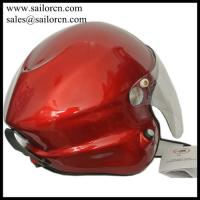 Buy cheap Paramotor helmet GD-G with full headset Red colour M L XL XXL size in stock from wholesalers
