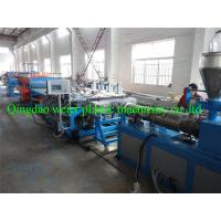 Buy cheap AC 380V 50HZ PVC Plastic Extruding Machine For Wall / Floor Panels from wholesalers