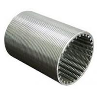 Buy cheap Water Well Wedgewire ScreenCylinderPipe High Mechanical Strength Easy Cleaning from wholesalers