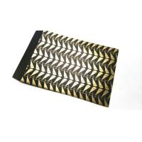 Buy cheap Gold printed gift paper card packaging bags printing services from wholesalers